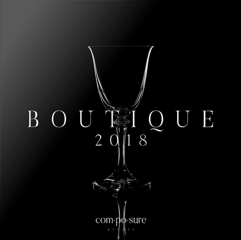 Composure Events Boutique Brochure 2018